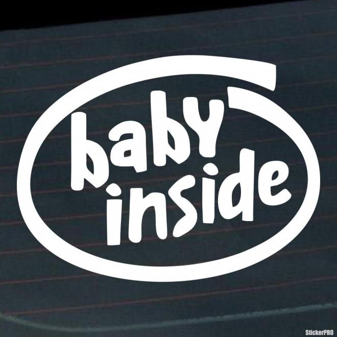Наклейка Baby Inside