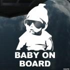 Наклейка Baby on Board Мальчишник в Вегасе