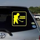 Наклейка Ребенок в Машине маленький хоккеист