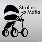 Наклейка Stroller Mafia Колясочная Мафия