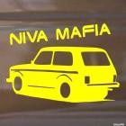 Наклейка Niva Mafia