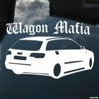 Наклейка Audi A6 Wagon Mafia