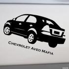 Наклейка Chevrolet Aveo Mafia