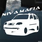 Наклейка Chevrolet Niva Mafia