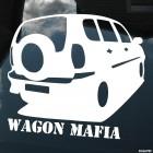 Наклейка Chevrolet Niva Wagon Mafia