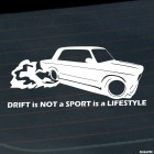 Наклейка Drift is not a Sport is a Lifestyle