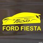 Наклейка Ford Fiesta