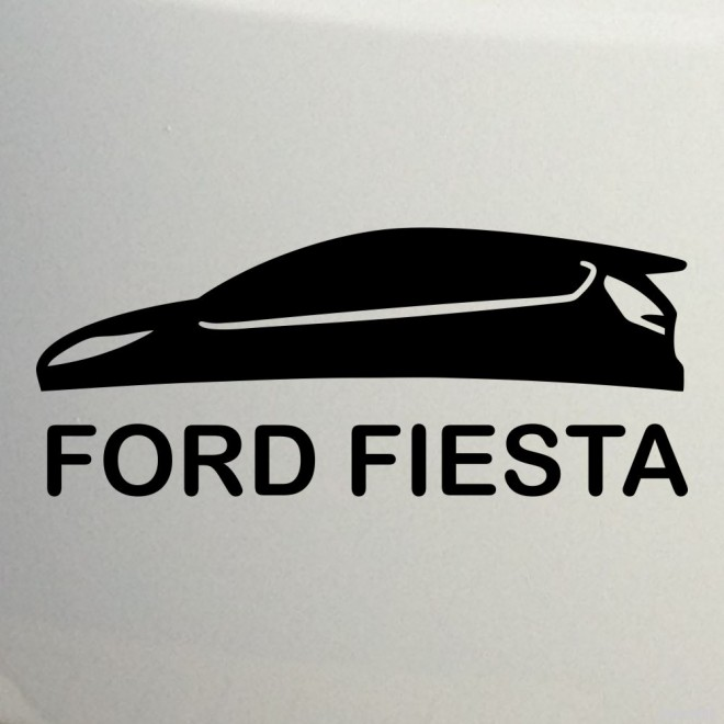 Наклейка Ford Fiesta 2