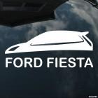 Наклейка Ford Fiesta 3