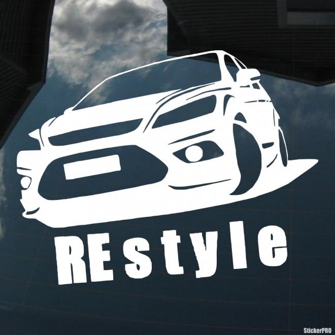 Наклейка Ford Focus Restyle