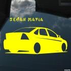 Наклейка Ford Focus 2 Sedan Mafia