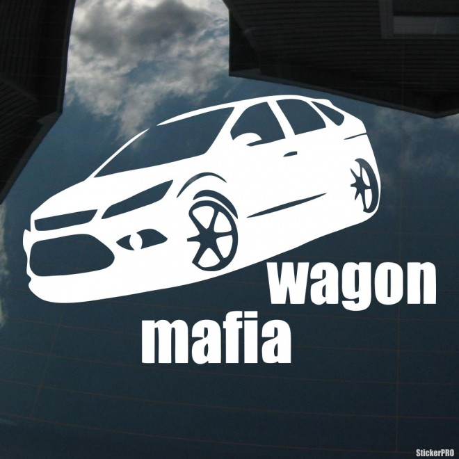 Наклейка Ford Focus Wagon Mafia