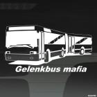 Наклейка Gelenkbus Mafia автобусная автомафия