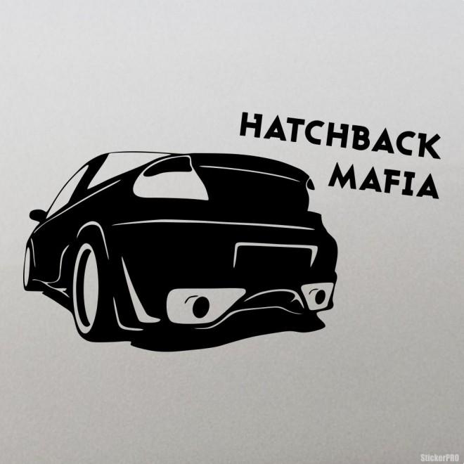 Наклейка Hatchback Mafia