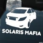 Наклейка Hyundai Solaris Mafia
