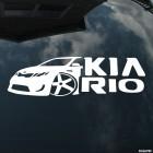 Наклейка KIA Rio клуб, автомафия
