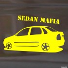 Наклейка LADA Kalina Sedan Mafia