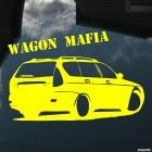 Наклейка Lada Priora Универсал Wagon Mafia