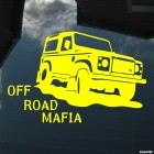Наклейка Land Rover Defender Off Road Mafia