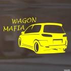 Наклейка Mazda Demio Wagon Mafia