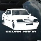 Наклейка Mercedes Sedan Mafia