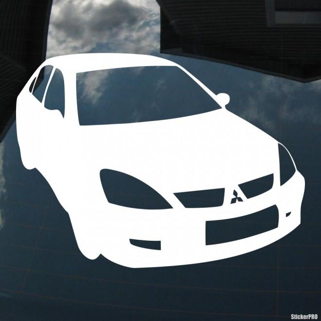 Наклейка Mitsubishi Lancer Mafia