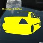 Наклейка Nissan Almera Sedan Mafia