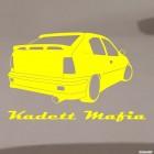 Наклейка Opel Kadett Mafia