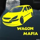 Наклейка Peugeot Wagon Mafia