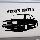 Наклейка LADA 2105 Sedan Mafia