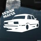Наклейка LADA 2107 Sedan Mafia