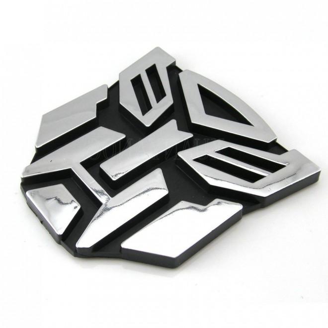 3D Наклейка на авто Трансформер Автобот