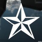 Наклейка Звезда на 9 Мая
