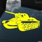 Наклейка Танк Т-34 на 9 Мая