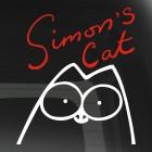 Наклейка Кот Саймона с подписью 2