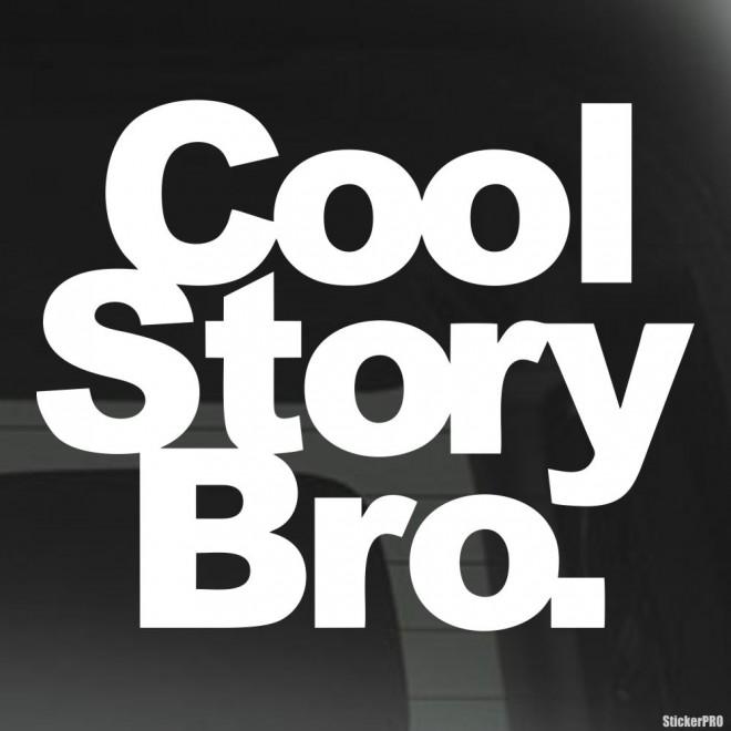 Наклейка Cool Story Bro. JDM (Крутая история Бро)