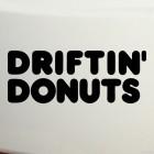 Наклейка driftin donuts JDM (дрифтующие пончики)