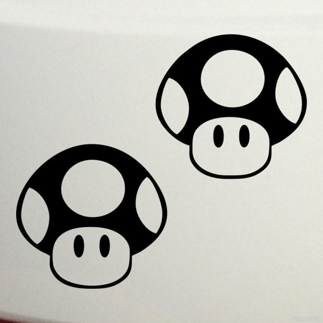 Наклейка Гриб-жаба из игры братья Супер Марио Nintendo JDM