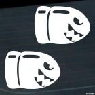 Наклейка две пули Билл из игры nintendo братья супер Марио JDM