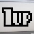 Наклейка 1up дополнительная жизнь из Марио JDM