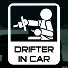 Наклейка Drifter in Car JDM