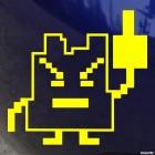 Наклейка Fuck You Pixel JDM