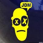 Наклейка Мужик говорит JDM