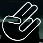 Наклейка жест Шокер Shocker JDM
