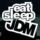 Наклейка Eat Sleep JDM