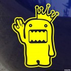 Наклейка Domo Kun King Shocker JDM