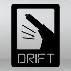 Наклейка Дрифт на ручнике