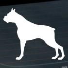 Наклейка Боксер собака стоит