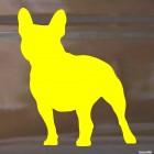 Наклейка Французский бульдог собака