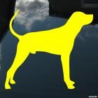 Наклейка Охотничья собака